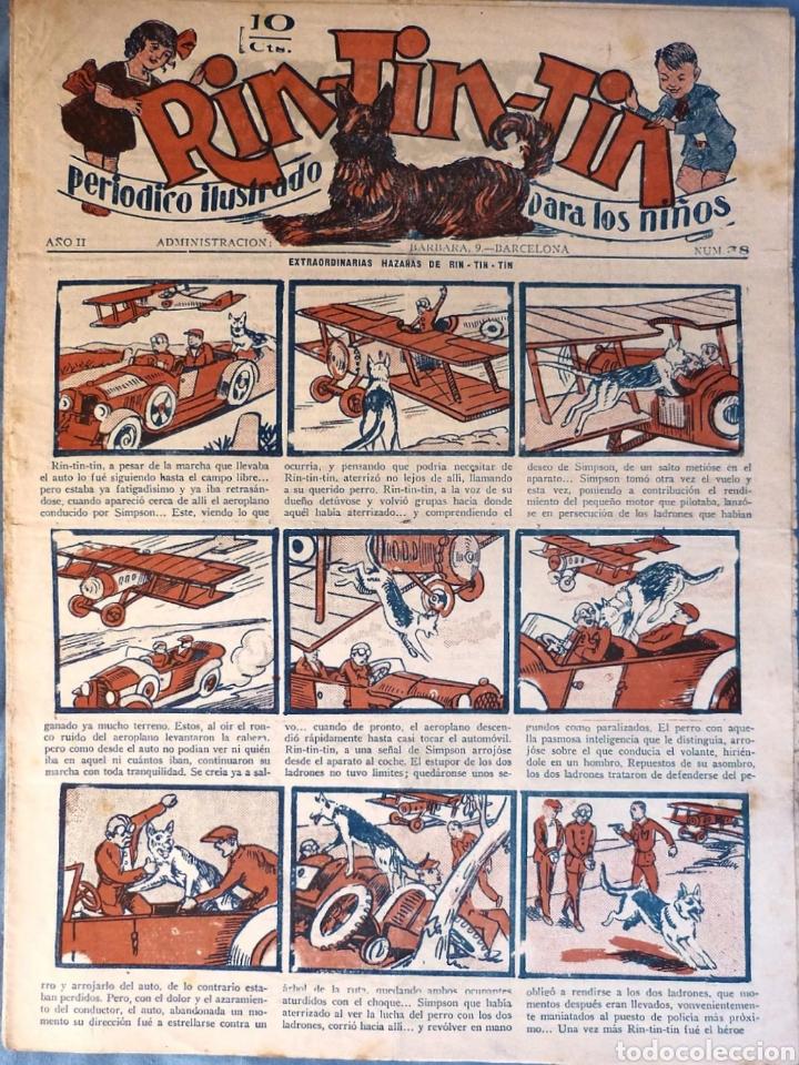 TEBEO N°38 RIN TIN TIN 1928 (Tebeos y Comics - Marco - Rin-Tin-Tin)