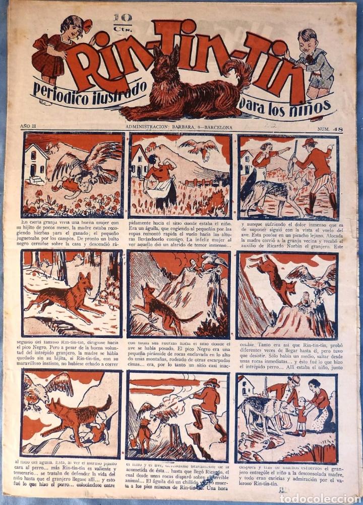 TEBEO N°48 RIN TIN TIN 1928 (Tebeos y Comics - Marco - Rin-Tin-Tin)