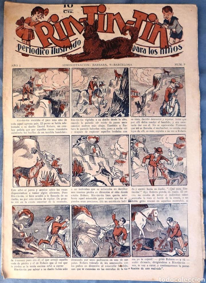TEBEO N°9 RIN TIN TIN 1928 (Tebeos y Comics - Marco - Rin-Tin-Tin)