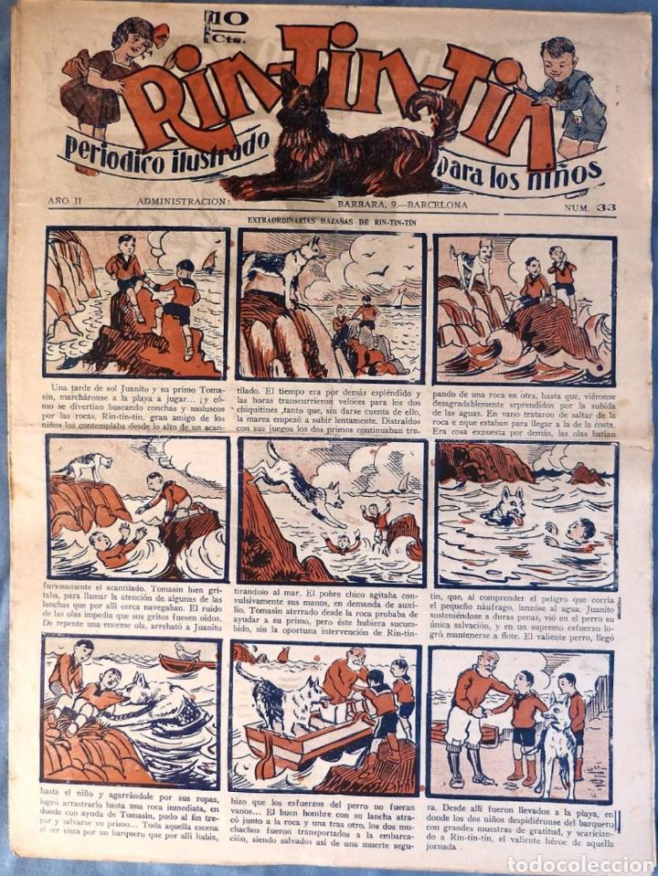 TEBEO N°33 RIN TIN TIN 1928 (Tebeos y Comics - Marco - Rin-Tin-Tin)