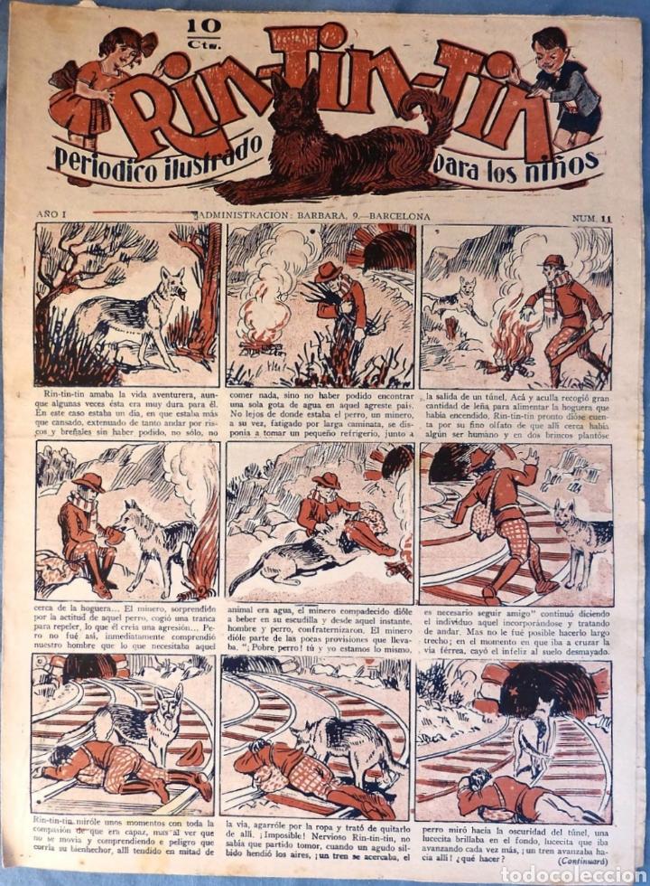 TEBEO N°11 RIN TIN TIN 1928 (Tebeos y Comics - Marco - Rin-Tin-Tin)