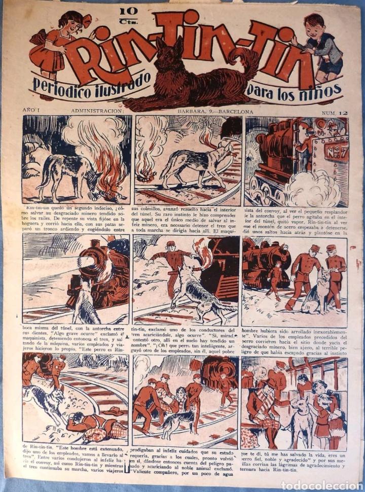 TEBEO N°12 RIN TIN TIN 1928 (Tebeos y Comics - Marco - Rin-Tin-Tin)