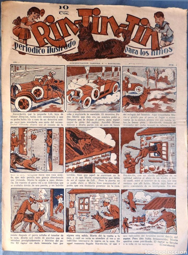 TEBEO N°7 RIN TIN TIN 1928 (Tebeos y Comics - Marco - Rin-Tin-Tin)