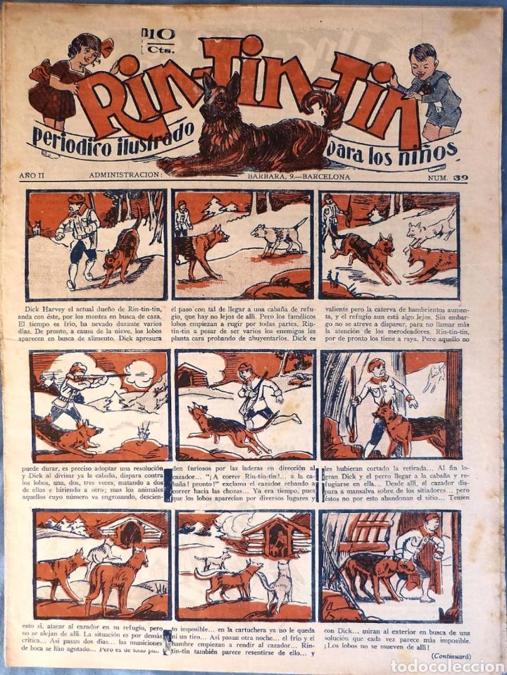 TEBEO N°39 RIN TIN TIN 1928 (Tebeos y Comics - Marco - Rin-Tin-Tin)