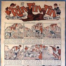 Tebeos: TEBEO N°6 RIN TIN TIN 1928. Lote 138836621