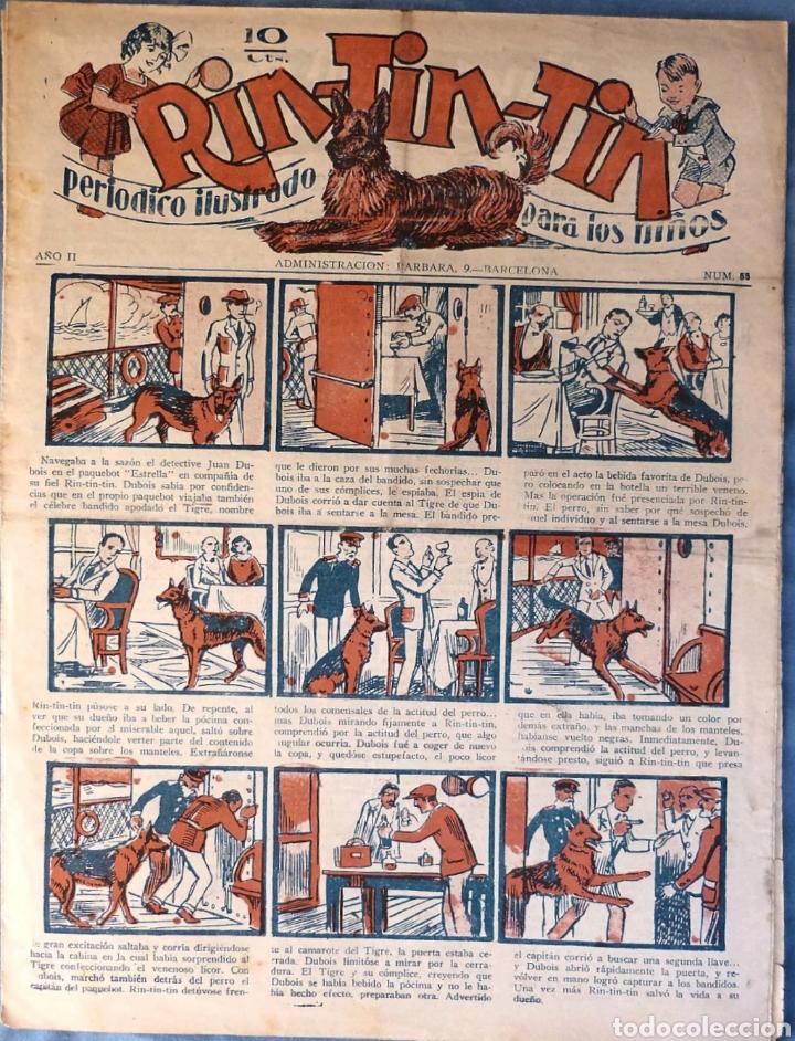TEBEO N°55 RIN TIN TIN 1928 (Tebeos y Comics - Marco - Rin-Tin-Tin)