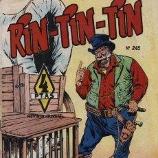 Tebeos: RIN TIN TIN- Nº 245 -EL BUHONERO -GRAN A. PÉREZ-J. CASTILLO- BUENO-DIFÍCIL-LEAN-1966-9639. Lote 139745416
