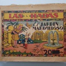 Tebeos: COLECCION LAS HADAS N°1 EL JARDIN MARAVILLOSO 1945 ORIGINAL MUY DIFICIL. Lote 140721337