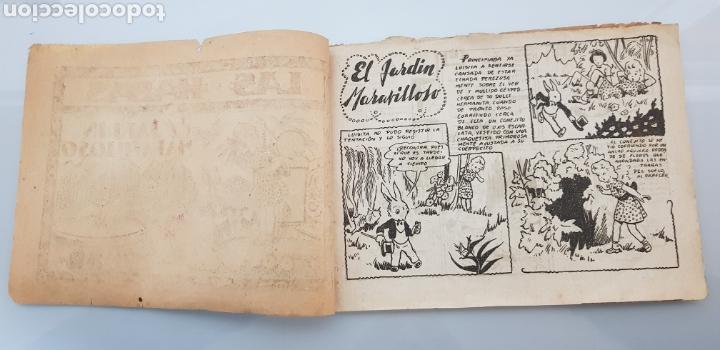 Tebeos: COLECCION LAS HADAS N°1 EL JARDIN MARAVILLOSO 1945 ORIGINAL MUY DIFICIL - Foto 2 - 140721337