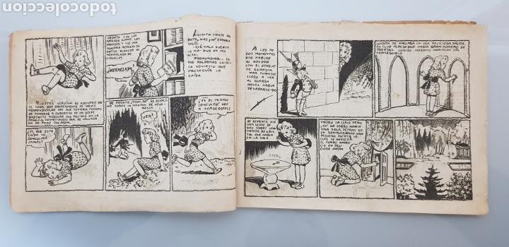 Tebeos: COLECCION LAS HADAS N°1 EL JARDIN MARAVILLOSO 1945 ORIGINAL MUY DIFICIL - Foto 3 - 140721337