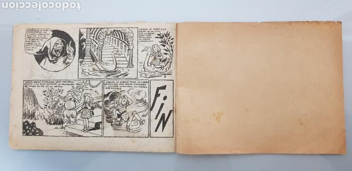 Tebeos: COLECCION LAS HADAS N°1 EL JARDIN MARAVILLOSO 1945 ORIGINAL MUY DIFICIL - Foto 6 - 140721337