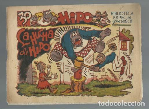 BIBLIOTECA ESPECIAL PARA NIÑOS, HIPO: LA HUCHA DE HIPO, 1942, MARCO, BUEN ESTADO (Tebeos y Comics - Marco - Hipo (Biblioteca especial))