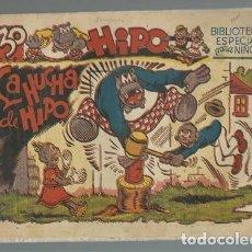 Tebeos: BIBLIOTECA ESPECIAL PARA NIÑOS, HIPO: LA HUCHA DE HIPO, 1942, MARCO, BUEN ESTADO. Lote 141752590