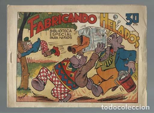 BIBLIOTECA ESPECIAL PARA NIÑOS: FABRICANDO HELADOS, 1942, MARCO, MUY BUEN ESTADO (Tebeos y Comics - Marco - Hipo (Biblioteca especial))
