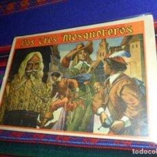 Tebeos: LOS TRES MOSQUETEROS ORIGINAL Nº 2. MARCO 1942. BUEN ESTADO Y MUY DIFÍCIL.. Lote 142486802