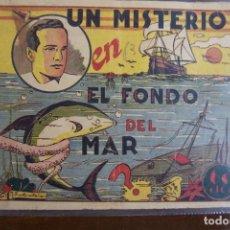 Tebeos: MARCO,- GRÁFICA DE AVENTURAS Nº UN MISTERIO EN EL FONDO DEL MAR, MONOGRÁFICO. Lote 143152630