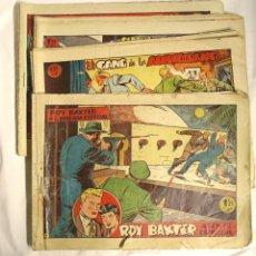 Tebeos: ROY BAXTER ORIGINALES AÑO 1957 EDIT MARCO, COMPLETA 20 NÚMEROS. Lote 143273282