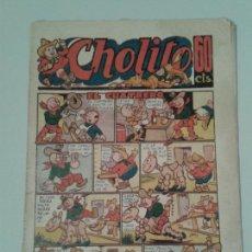 Tebeos: CHOLITO. NÚM. 7. EL CUATRERO. 1946-1947.. Lote 143455556