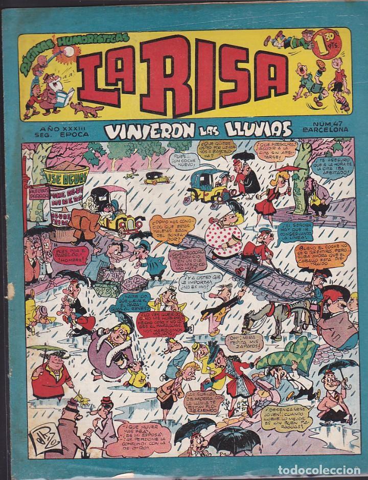 COMIC LA RISA 2ª EPOCA Nº 47 (Tebeos y Comics - Marco - La Risa)