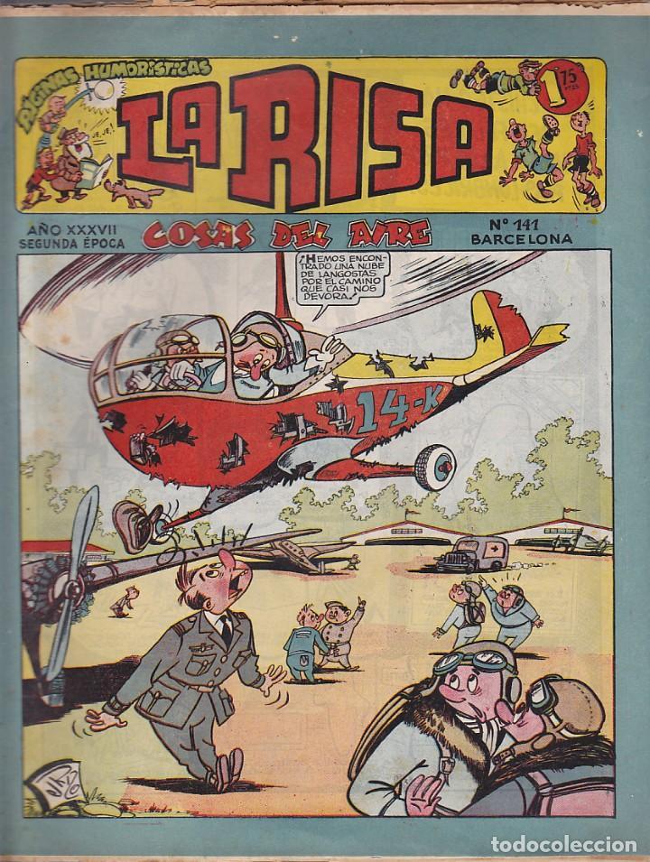 COMIC LA RISA 2ª EPOCA Nº 141 (Tebeos y Comics - Marco - La Risa)