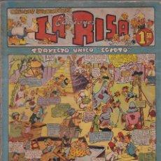Tebeos: COMIC LA RISA 2ª EPOCA Nº 4 CROMO ARTIGAS R.C.D. ESPAÑOL. Lote 144717762