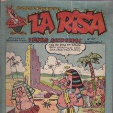 Tebeos: COMIC LA RISA 2ª EPOCA Nº 159. Lote 144718018