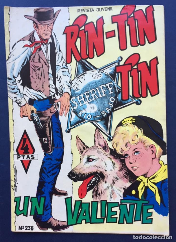 RINTINTIN RIN-TIN-TIN REVISTA JUVENIL Nº 236 UN VALIENTE ED. OLIVÉ Y HONTORIA (Tebeos y Comics - Marco - Rin-Tin-Tin)