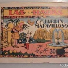Tebeos: TEBEO COLECCION LAS HADAS EL JARDIN MARAVILLOSO. Nº 1 EDICIONES MARCO. 1943. Lote 146768238