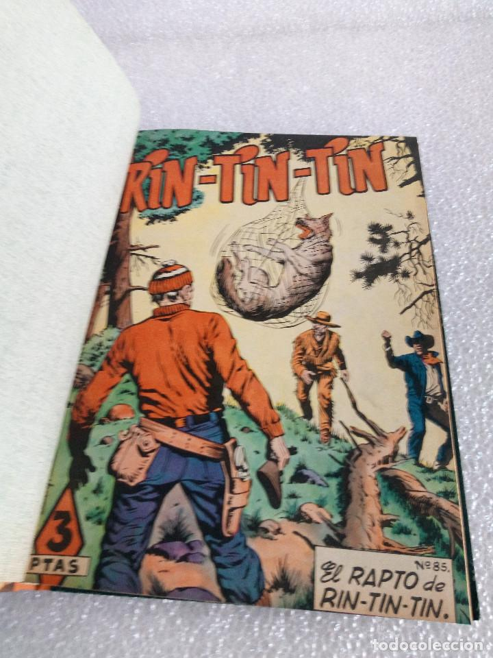 Tebeos: RINTINTIN RIN TIN TIN AVENTURAS DEL PERRO 1958 TAPADURA del 85 al 99 muy buen estado - Foto 6 - 147195518