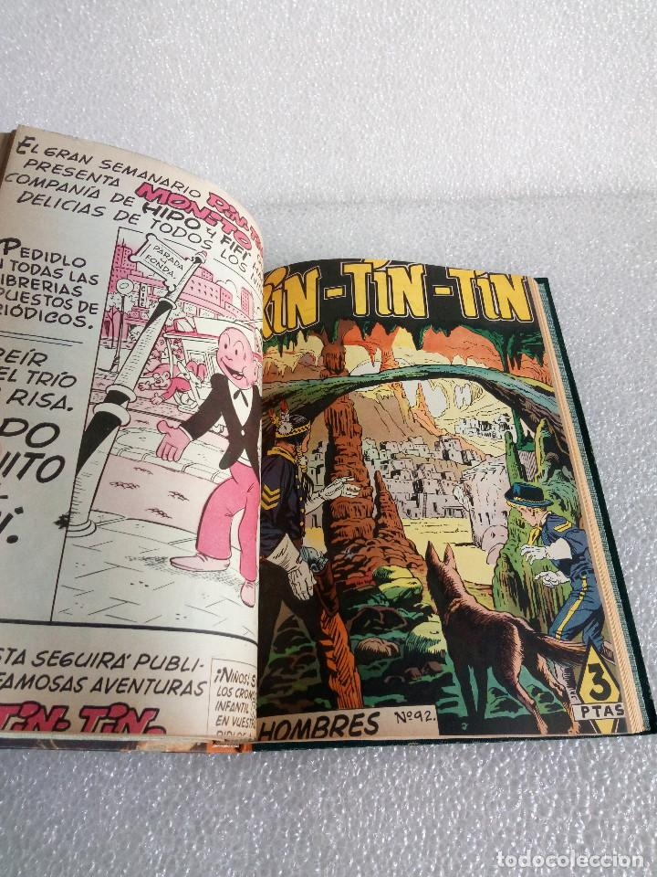 Tebeos: RINTINTIN RIN TIN TIN AVENTURAS DEL PERRO 1958 TAPADURA del 85 al 99 muy buen estado - Foto 13 - 147195518