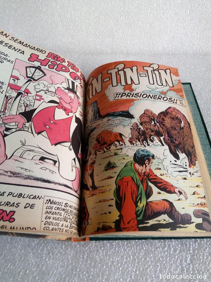 Tebeos: RINTINTIN RIN TIN TIN AVENTURAS DEL PERRO 1958 TAPADURA del 85 al 99 muy buen estado - Foto 14 - 147195518