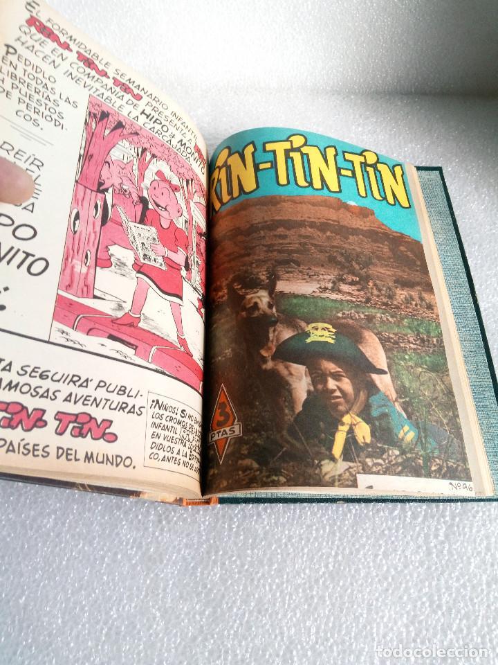 Tebeos: RINTINTIN RIN TIN TIN AVENTURAS DEL PERRO 1958 TAPADURA del 85 al 99 muy buen estado - Foto 17 - 147195518