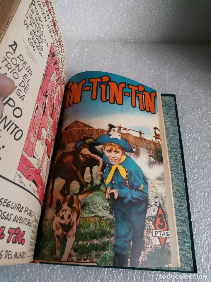 Tebeos: RINTINTIN RIN TIN TIN AVENTURAS DEL PERRO 1958 TAPADURA del 85 al 99 muy buen estado - Foto 20 - 147195518