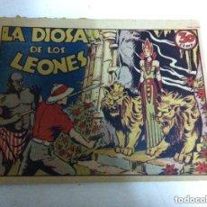 Tebeos: LA DIOSA DE LOS LEONES - 30 CTS. (EXCELENTE CONSERVACIÓN. Lote 147427682