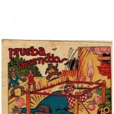 Tebeos: BIBLIOTECA ESPECIAL PARA NIÑOS -PRUEBA DE INCENDIOS- ORIGINAL,1942.. Lote 147536866