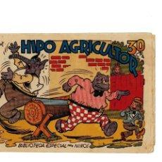 Tebeos: BIBLIOTECA ESPECIAL PARA NIÑOS -HIPO AGRICULTOR- ORIGINAL,1942.BUENO.. Lote 147537042