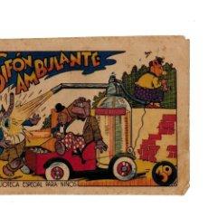 Tebeos: BIBLIOTECA ESPECIAL PARA NIÑOS -SIFÓN AMBULANTE- ORIGINAL,1942.. Lote 147537254