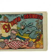 Tebeos: BIBLIOTECA ESPECIAL PARA NIÑOS -EL RATA DEL DESIERTO- ORIGINAL,1942.. Lote 147538654