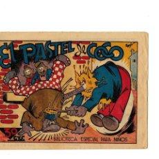 Tebeos: BIBLIOTECA ESPECIAL PARA NIÑOS -EL PASTEL DE COCO- ORIGINAL,1942. MUY BUENO.. Lote 147539170
