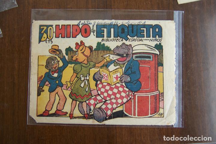 MARCO,- BIBLIOTECA ESPECIAL PARA NIÑOS Nº HIPO DE ETIQUETA (Tebeos y Comics - Marco - Hipo (Biblioteca especial))