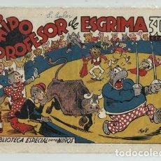 Tebeos: BIBLIOTECA ESPECIAL PARA NIÑON 51: HIPO PROFESOR DE ESGRIMA, 1942, MARCO, BUEN ESTADO. Lote 148250722