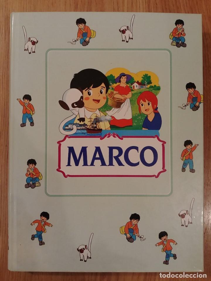 MARCO ED RBA COLECCIÓN COMPLETA 35 FASCICULOS ENCUADERNADA (Tebeos y Comics - Marco - Otros)