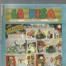 Tebeos: LA RISA NÚMERO 1, TERCERA EPOCA, 1964, MARCO, USADO. Lote 150186426