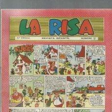 Tebeos: LA RISA NÚMERO 2, TERCERA EPOCA, 1964, MARCO, MUY BUEN ESTADO. Lote 150186586