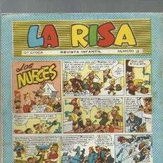 Tebeos: LA RISA NÚMERO 3, TERCERA EPOCA, 1964, MARCO, MUY BUEN ESTADO. Lote 150186746