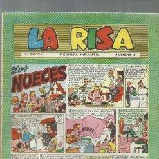 Tebeos: LA RISA NÚMERO 4, TERCERA EPOCA, 1964, MARCO, BUEN ESTADO. Lote 150186878
