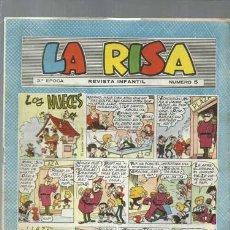 Tebeos: LA RISA NÚMERO 5, TERCERA EPOCA, 1964, MARCO, BUEN ESTADO. Lote 150187034