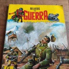 Tebeos: RELATOS DE GUERRA Nº 10 - ED. MARCO IBERICA, G4 EDICIONES 50 PGNAS.. Lote 150782574