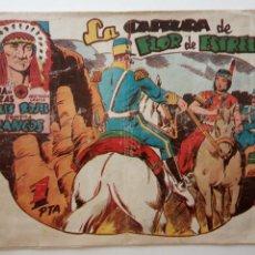 Tebeos: LUCHA DE RAZAS , PIELES ROJAS CONTRA BLANCOS, ORIGINAL Nº 38 - EDI. MARCO 1952 - HU. Lote 150844494