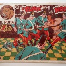 Tebeos: EL PUMA ORIGINAL Nº 31 - MARTÍNEZ OSETE - EDI. MARCO - HU. Lote 150844798